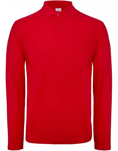 B&C CGPUI12 - POLO HOMME ID.001 MANCHES LONGUES