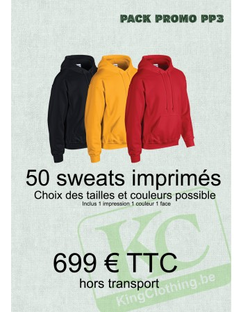 Pack Promo 50 sweats