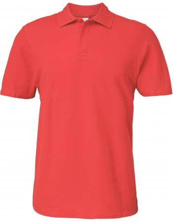 GILDAN GI64800 - POLO HOMME SOFTSTYLE DOUBLE PIQUE