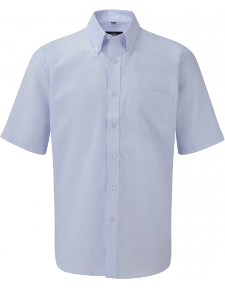 RUSSELL RU933M - CHEMISE HOMME MANCHES COURTES OXFORD