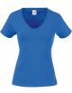 FOL SC61398 - T-SHIRT FEMME COL V VALUEWEIGHT