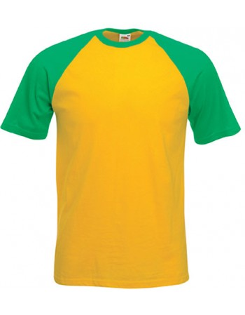 FOL SC61026 - T-SHIRT BASEBALL VALUEWEIGHT